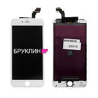 Дисплей для мобильного телефона Iphone 6+, белый, с тачскрином / Экран для Айфон 6+, белого цвета