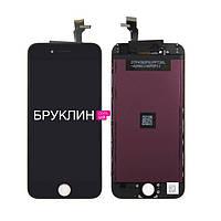 Дисплей для мобильного телефона Iphone 6s, черный, с тачскрином / Экран для Айфон 6 s, черного цвета