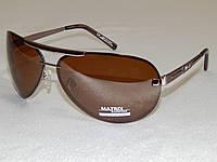Мужские солнцезащитные очки Matrix, коричневые капли 780134