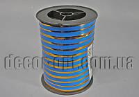Лента синяя 1см/100м