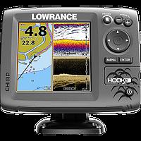GPS эхолот для рыбалки Lowrance Hook 5 с сенсорным экраном