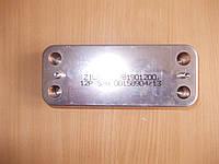 Теплообменник вторичный ГВС Zilmet  на 12 пластин .