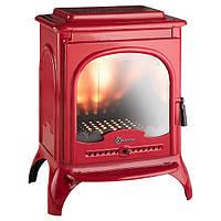 Чугунная печь-камин INVICTA SEVILLE (красная эмаль)