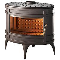 Чугунная печь-камин INVICTA MANDOR (антрацит), фото 1