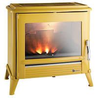 Чугунная печь-камин INVICTA MODENA (желтая эмаль)
