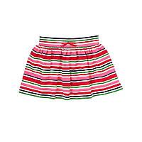 Детская трикотажная юбка для девочки 18-24 месяца.