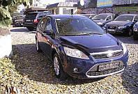Дефлектор капота (мухобойка) Ford Focus II+ 2008-2010 /длинный