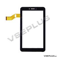 Тачскрин (сенсор) под китайский планшет Freelander PD10 3GS, 04-0700-0866, черный, 7.0 inch, 51 пин
