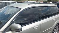 Дефлекторы окон (ветровики) Subaru Outback III/Legacy Wagon 2004-2009