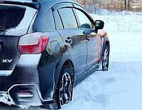 Дефлекторы окон (ветровики) Subaru XV 2011