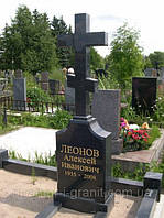 Гранитные кресты на могилу, фото 1