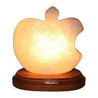 """Соляной светильник """"Яблоко Apple"""" (2 кг) """"Ваше Здоровье"""""""