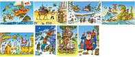 Кастор пазлы 054 mini Сборник мультфильмов А-08521-ВU1