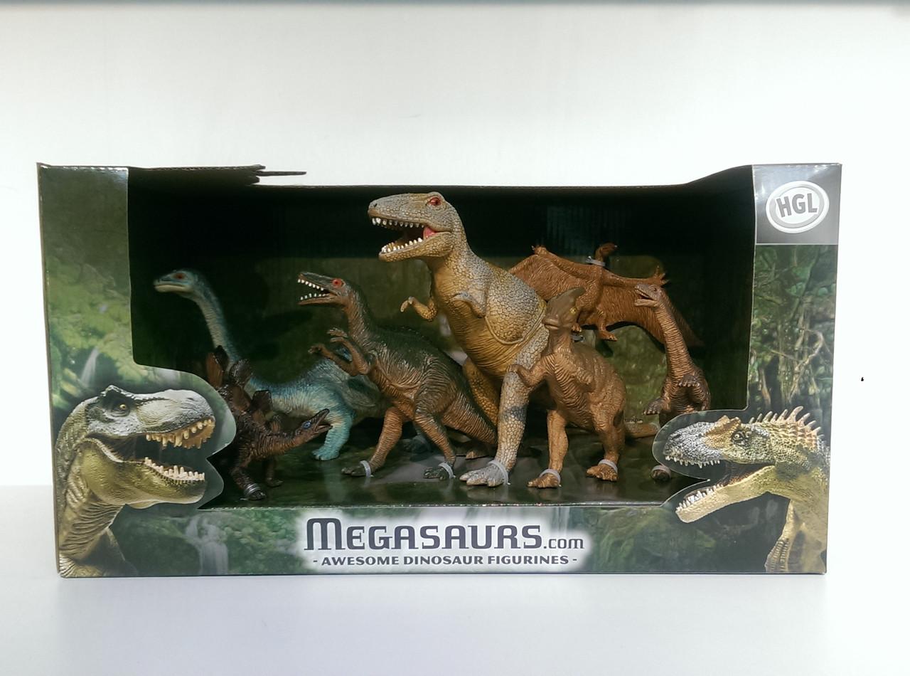 Игровая фигурка «HGL» (SV12179) набор Динозавры серия В