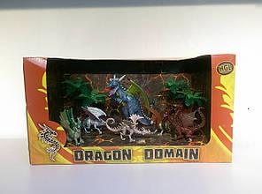 Игровая фигурка «HGL» (SV11711) набор Волшебные драконы серия А