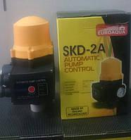 Электронное реле давления Euroaqua SKD -2A (с манометром).