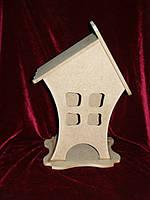 Коробка для хранения чайных пакетиков вмятые боковины (14 х 14 х 23 см)
