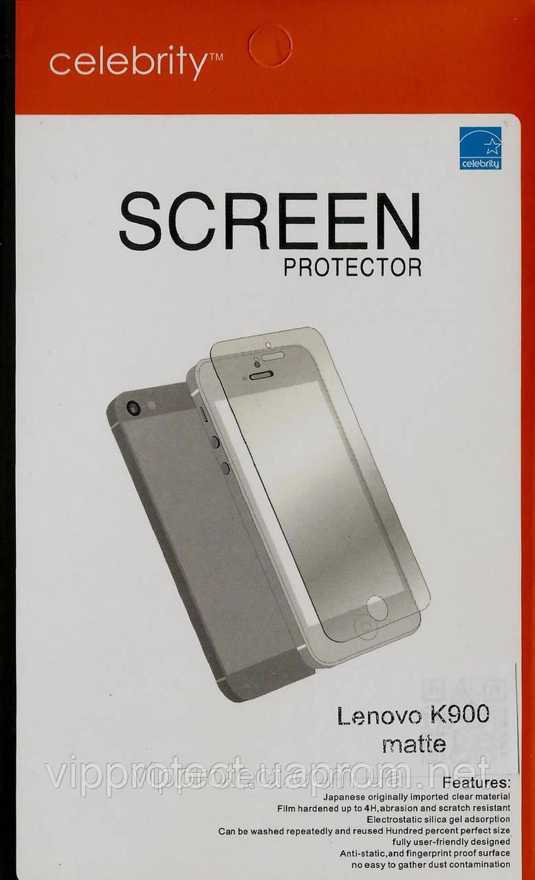 Lenovo K900, матовая защитная пленка на телефон