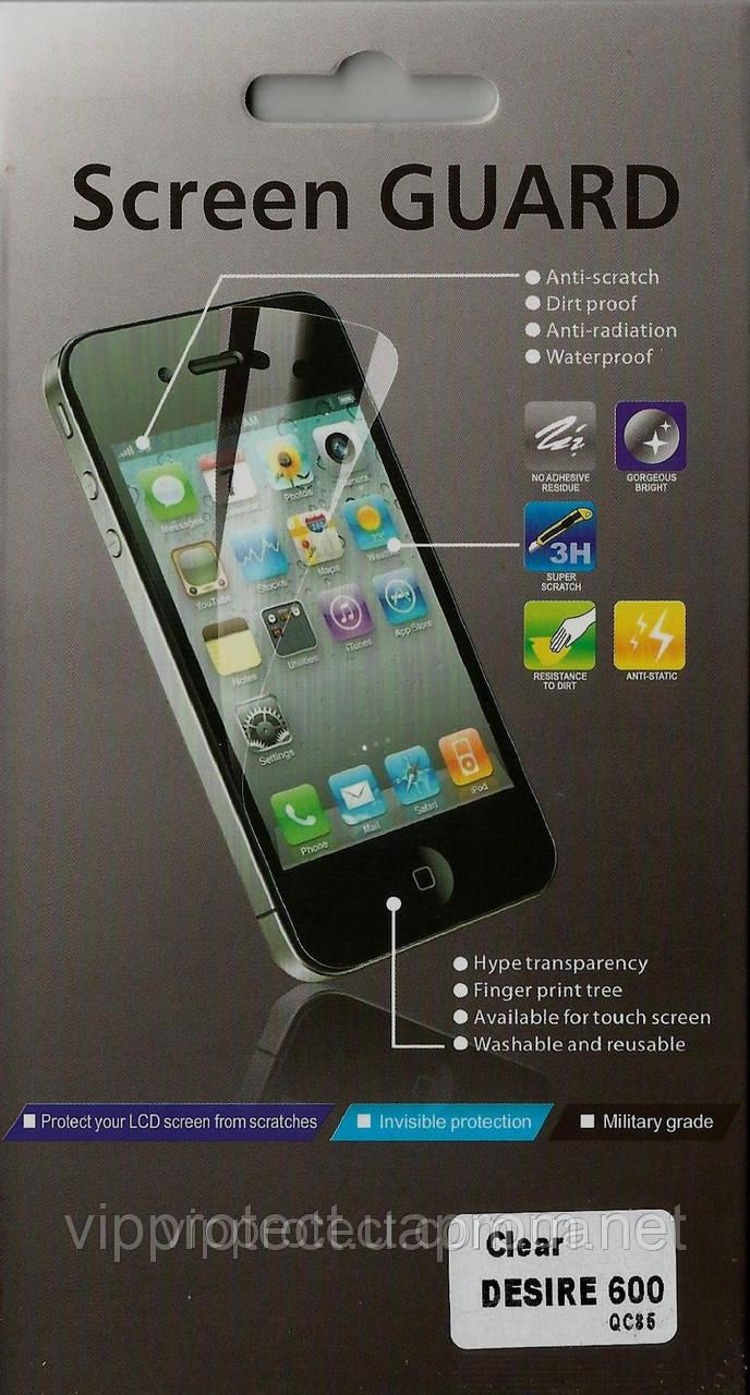 HTC Desire_600, глянцевая пленка