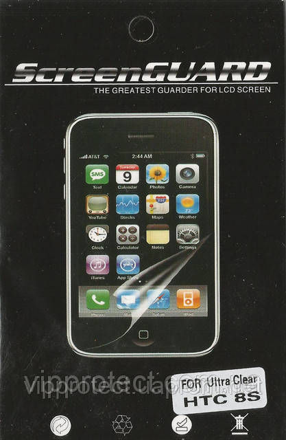 HTC Windows_Phone_8S, глянцевая пленка