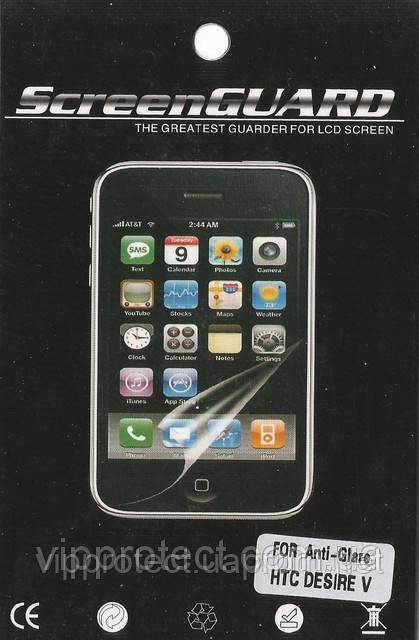 HTC Desire_V, матовая пленка T328w