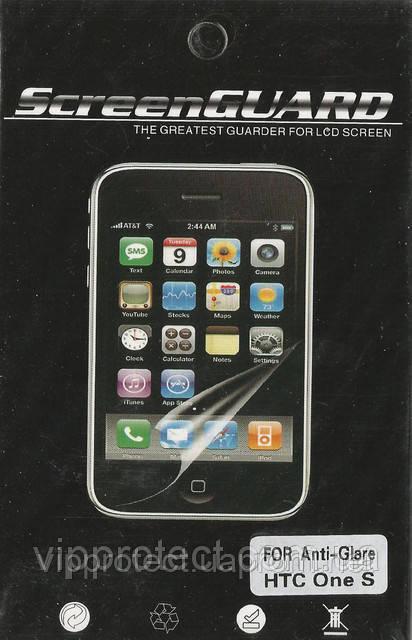 HTC One_S, матова плівка Z520e Z560e