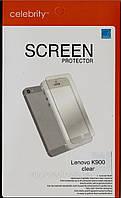 Lenovo K900, глянцевая защитная пленка на телефон