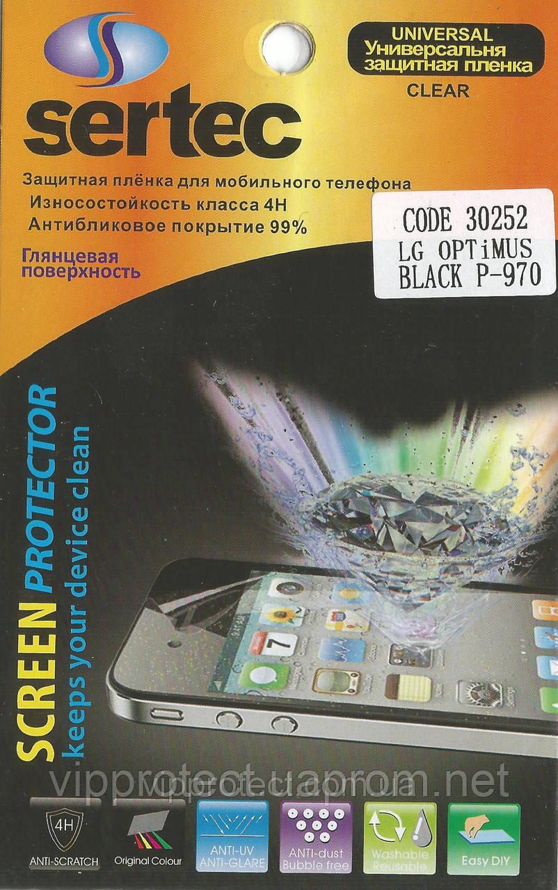 LG_P970, глянцевая пленка Optimus Black