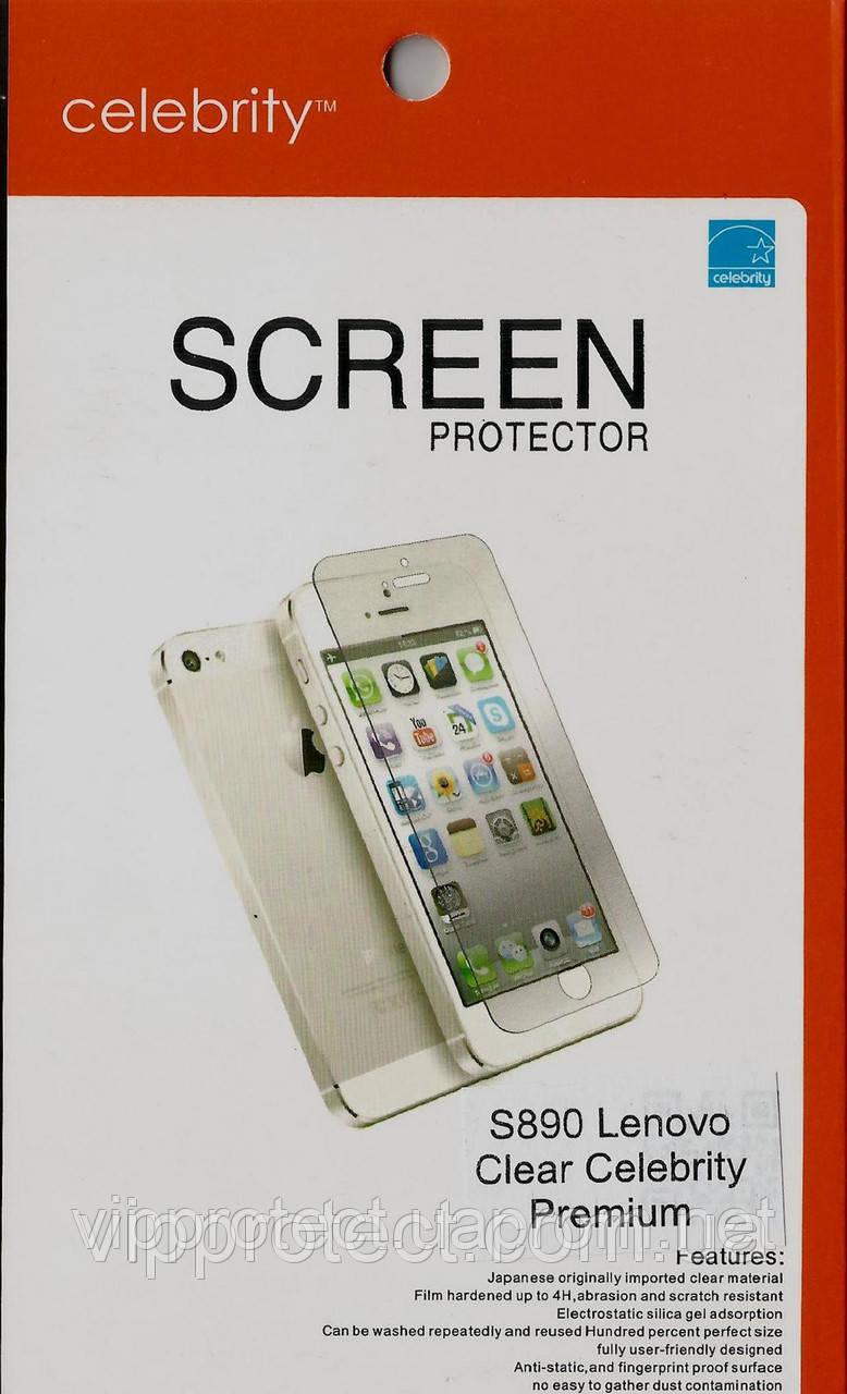 Lenovo S890 Premium глянцевая защитная пленка на телефон