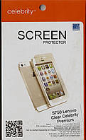 Lenovo S750 Premium глянцевая защитная пленка на телефон