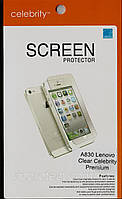 Lenovo A830 Premium глянцевая защитная пленка на телефон