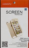 Lenovo A850 Premium глянцевая защитная пленка на телефон