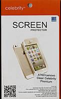 Lenovo A760, глянцевая защитная пленка на телефон