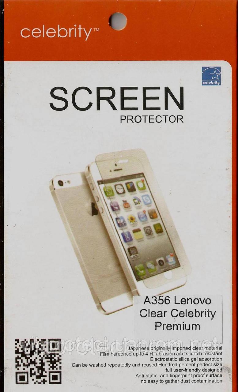 Lenovo A356 глянцевая защитная пленка на телефон