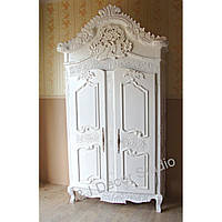 Замечательный стильный шкаф белый