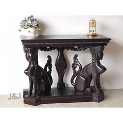 Деревянный стол (консоль) резбленный