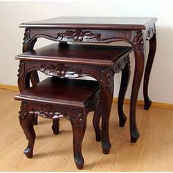 Стильный набор из 3-х столиков