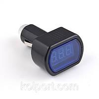 Вольтметр Измеритель напряжения автомобильный LCD, фото 1