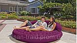 Intex 68881 Надувная кровать круглая, фото 2