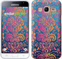 "Чехол на Samsung Galaxy J2 (2016) J210 Барокко хамелеон ""2020c-270"""