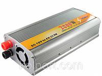 Инвертор 12v-220v 2000W DC to AC power invertor, фото 1