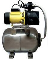 Насосная станция Optima JET150-50 inox 1,3 кВт (бак 50л-нержавейка)
