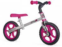 Беговел First Bike розовый Smoby (770201)
