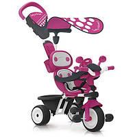 Детский металлический велосипед Комфорт Smoby, розовый (740600)