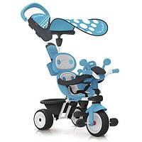 Детский металлический велосипед Комфорт Smoby, синий (740601)