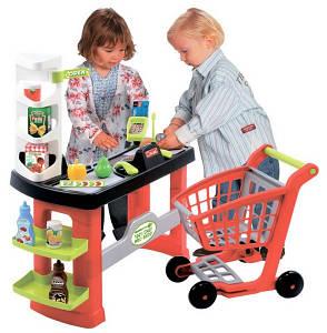 Детский супермаркет, касса, магазин