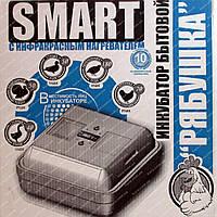 Инкубатор Рябушка-70 Smart Plus c ручным переворотом. Аналоговый терм-р. ТЭНовый