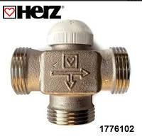"""Трехходовой термостатический клапан HERZ CALIS-TS 3/4""""  Австрия"""