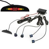Парктроник 4 сенсора LED дисплей., фото 1
