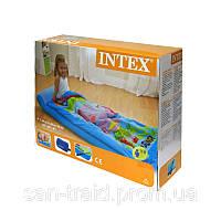 Матрас надувной детский с покрывалом Intex 66802 (152х64х20 см), фото 1